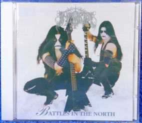 Cd Immortal Battles In The North Original Pronta Entrega
