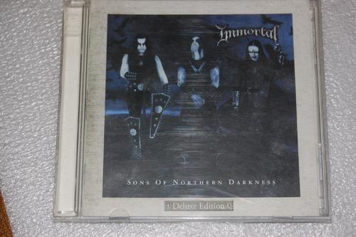 cd immortal sons of northern darkness cd+dvd en la plata