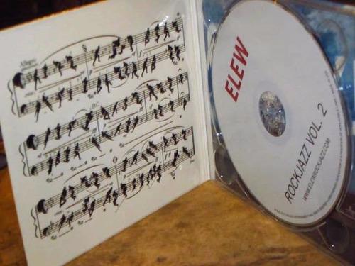 cd imp elew - rockjazz vol. 2 (2012) digipack