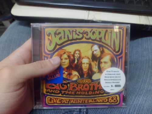 cd imp. - janis joplin - with big brother and the holding