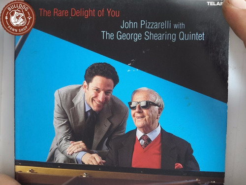 cd imp john pizzarelli george shearing the rare delight - c1
