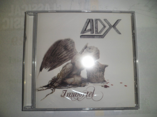 cd importado - adx - immortel frete 10,00