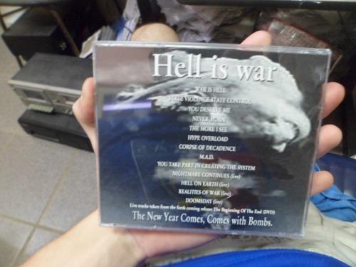 cd importado - discharge - tour edition 001