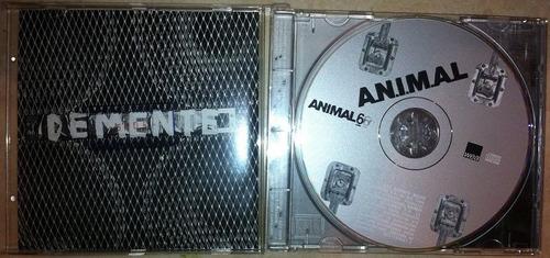 cd importado nuevo banda argentina  a.n.i.m.a.l. bs 12.500