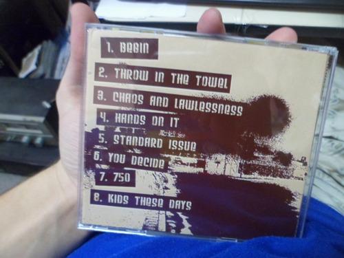 cd importado - smartbomb - chaos and lawlessness frete 10,00