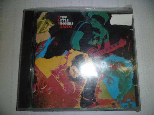 cd importado - stiff little fingers - hanx! frete 10,00