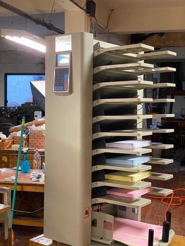 cd impresos, máquinas imprenta