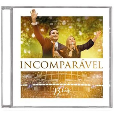 cd incomparável - brás adoração