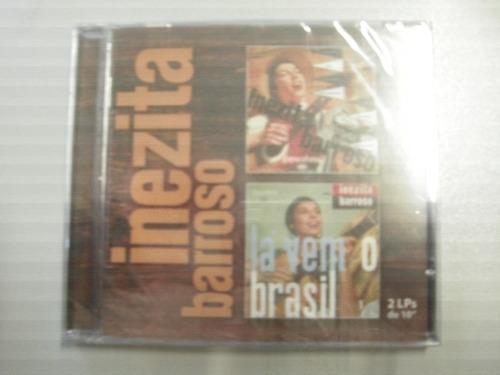 cd - inezita barroso: 1955 lá vem o brasil 1956