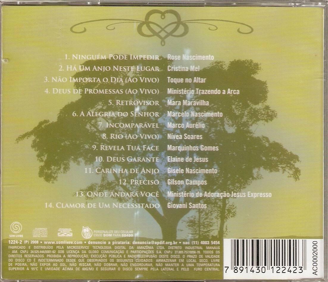cd infinito amor 2 grandes louvores a deus
