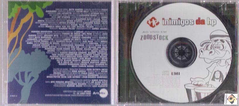 cd inimigos da hp ao vivo em zoodstock