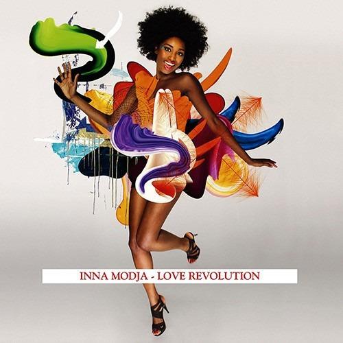 cd inna modja love revolution (2011) * lacrado original raro