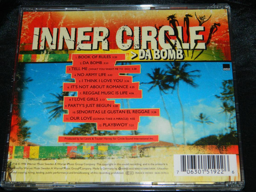 cd inner circle da bomb