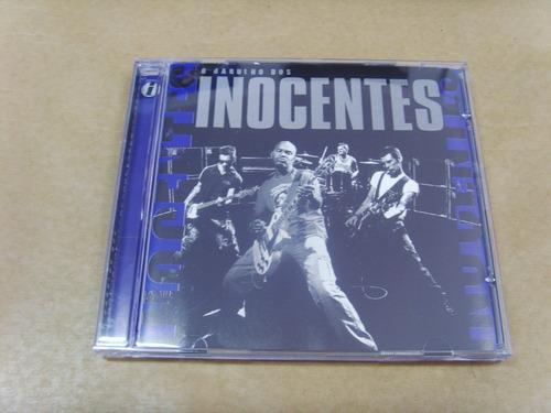 cd - inocentes - o barulho dos inocentes
