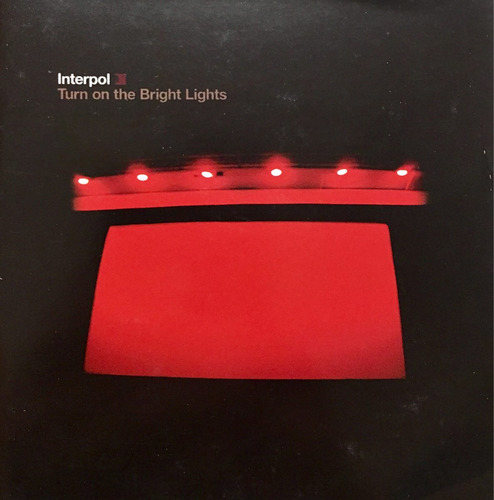 cd interpol turn on the bright lights con stickers