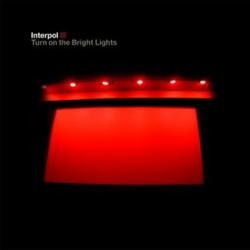 cd interpol - turn on the bright lights (made in usa)
