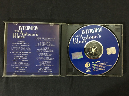 cd - interview with antone's blues