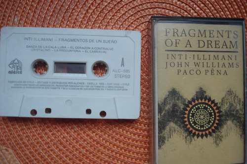 cd inti illimani fragments of a dream chileno