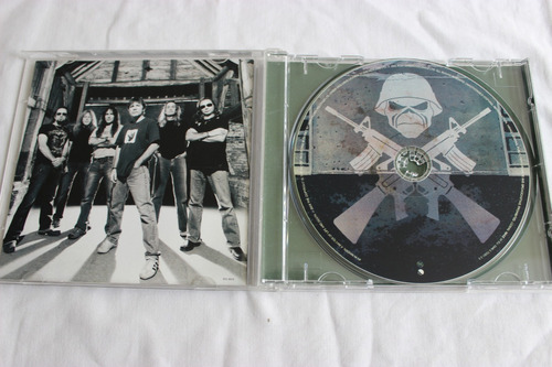 cd iron maiden a matter of life and death original