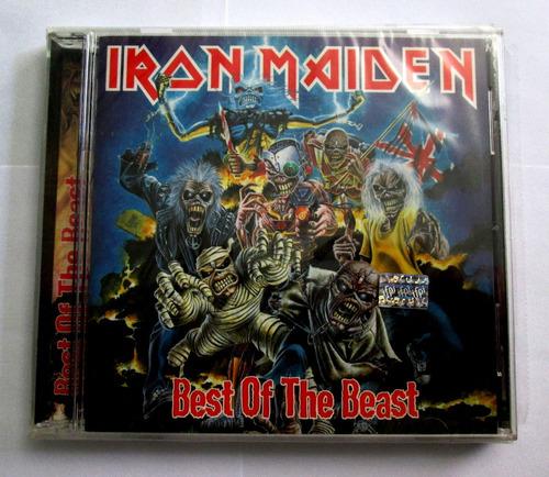 cd iron maiden, best of the beast