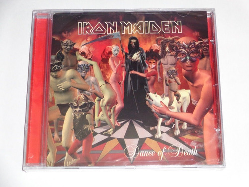 cd iron maiden dance of death - lacrado - frete grátis