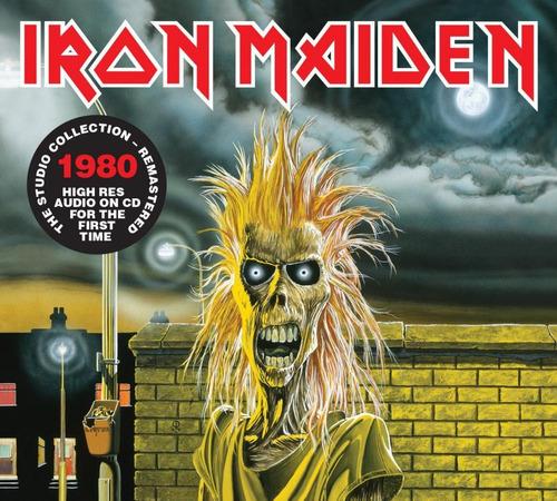 cd iron maiden iron maiden (1980) remastered