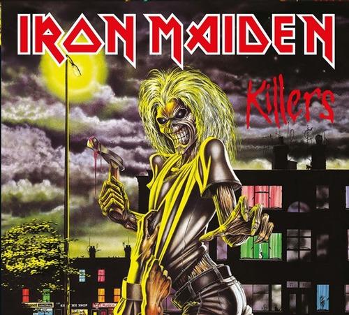 cd iron maiden killers 1981 remastered original lacrado