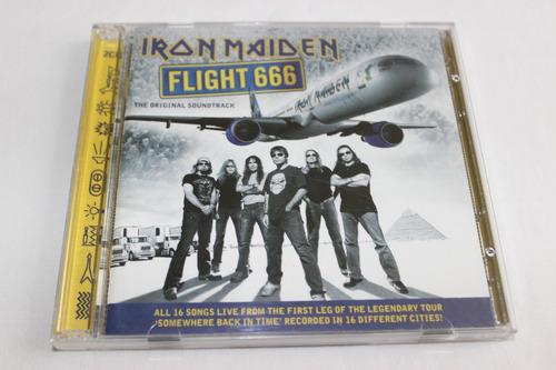 cd iron maiden live flight 666