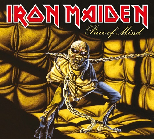 cd iron maiden piece of mind-(1983) remastered original 2018