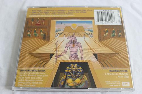 cd iron maiden powerslave original