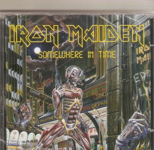 cd iron maiden - somewhere in time - novo lacrado***