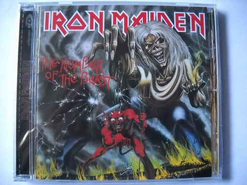 cd - iron maiden - the number of the beast