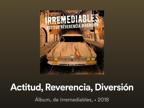 cd irremediables (x canción)