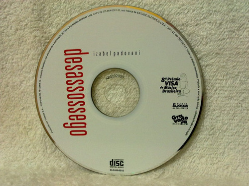 cd izabel padovani- desassossego