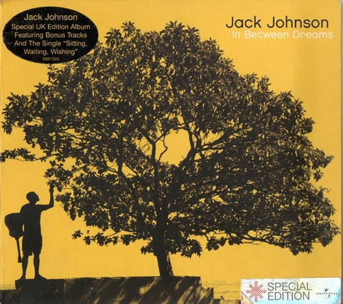 cd jack johnson ¿ in between dreams (uk edition + bonus)