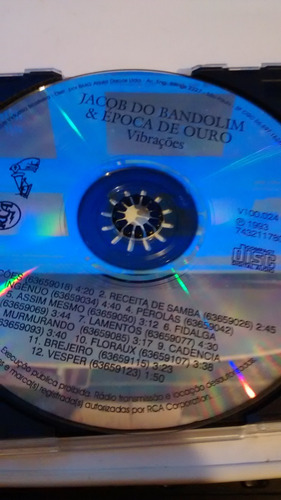 cd jacob do bandolim acervo especial vibrações 1993