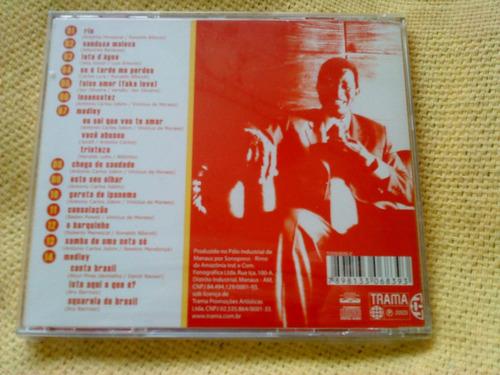 cd jair rodrigues a nova bossa 1ª edição 2003 raro lacrado