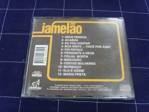 cd - jamelão - folha morta