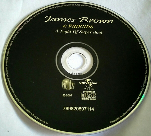 cd james brown & friends a night of super soul (hbs)