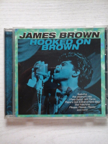 cd james brown hooked on brown muy bueno