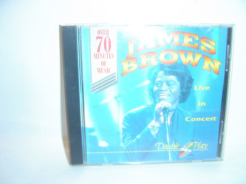 cd james brown live in concert
