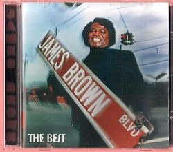 cd james brown - the best (usado/otimo)