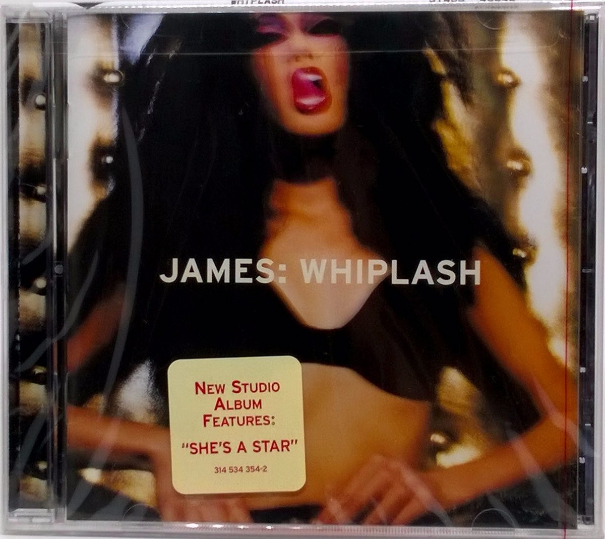 Cd James Whiplash 1997 Americano Lacrado 11 Faixas Mercury