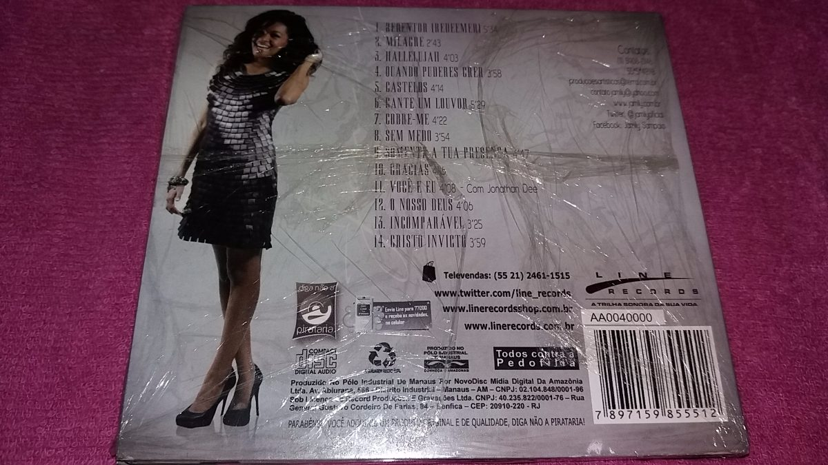 novo cd da jamily em 2011 hallelujah