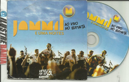 cd jammil e uma noites ao vivo no humaitá (promo) raridade