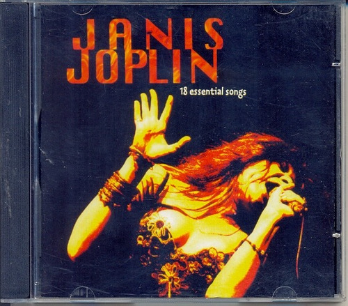 cd janis joplin - 18 essential songs