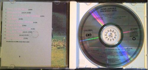 cd - janis joplins - greatest hits - original