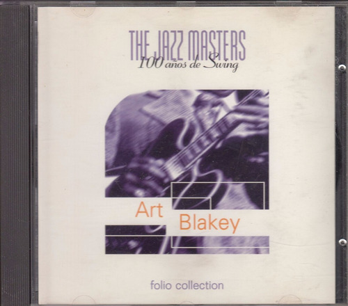 cd jazz masters art blakey bateria