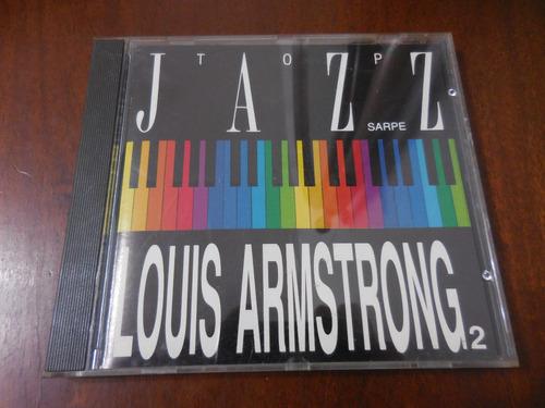 cd jazz top jazz louis armstrong 2 importado
