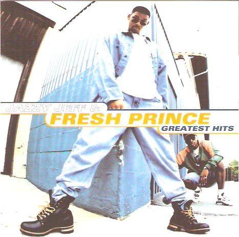 cd jazzy jeff & fresh prince - greatest hits - novo***
